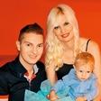 Sin Damjana Murka praznoval 2. rojstni dan