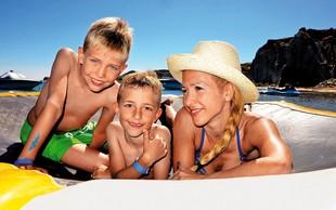 Natka Geržina z družino občudovala Jonsko morje!