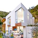 Hiša je moderna in za zvezdniške razmere majhna. (foto: Profimedia)