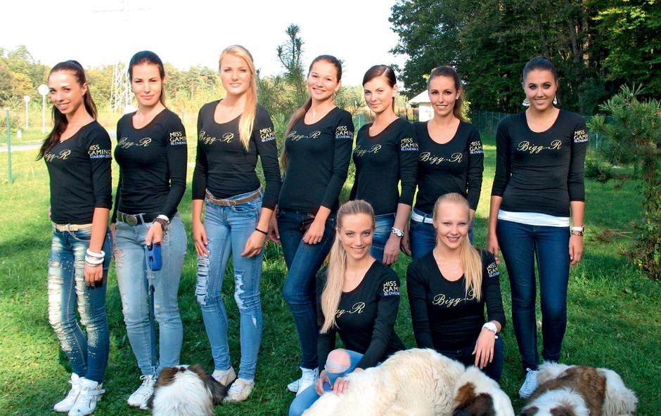 Miss Gaming Slovenije (foto: revija Lea)