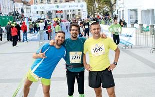Poglejte, koga smo ujeli na Ljubljanskem maratonu