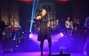 Kup znanih na predstavitvi novega albuma Rebeke Dremelj