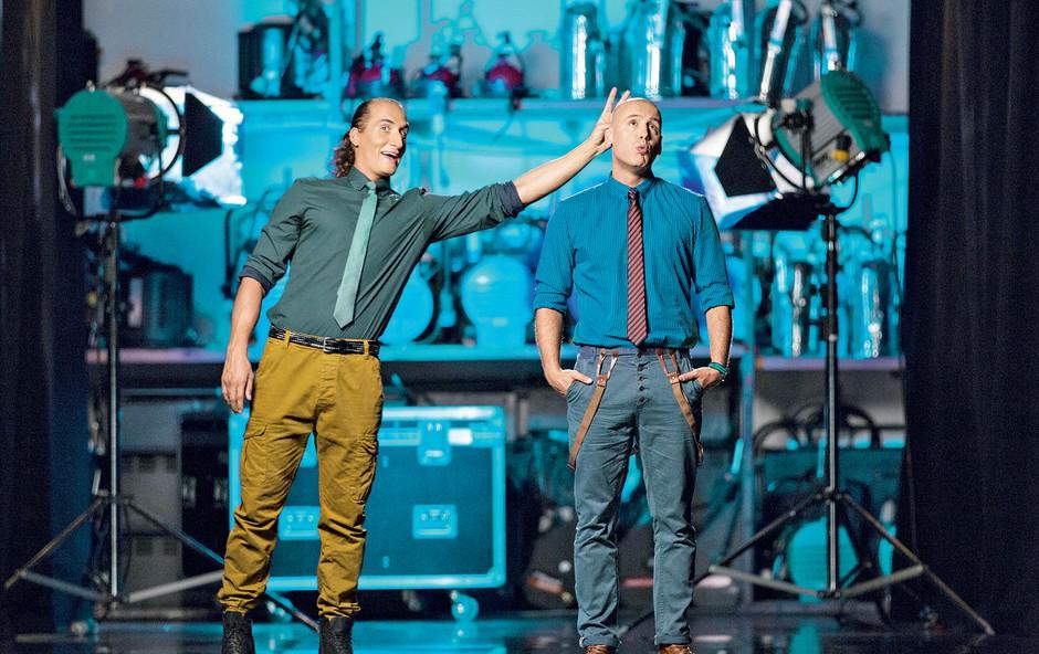 Vid Valič in Peter Poles (foto: arhiv POP TV)