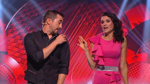 Nina Osenar in Marko Potrč (foto: Planet TV)