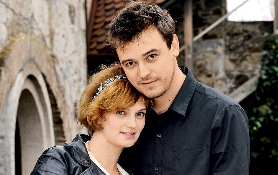Boštjan Meglič in Teja Britovšek (foto: revija Story)