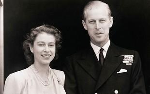 Elizabeta II. s princem poročena že 67 let