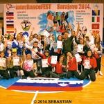 Sebastian je s  svojimi plesalci  dosegel lep uspeh. (foto: Nova Press)