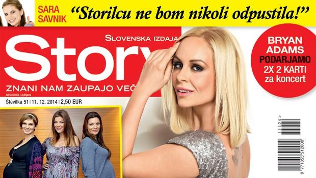 Špela Grošelj za Story o svojih treh ljubeznih (foto: Story)