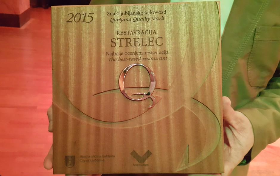Najbolje ocenjena restavracija je STRELEC Kaval Group, Ljubljanski Grad (foto: Kaval Group)