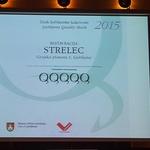 Znak ljubljanske kakovosti 2015 Restavraciji Strelec in Slaščičarni Lolita (foto: Kaval Group)