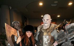 Bitka petih vojska v Cineplexx pritegnila ljubitelje Tolkienovih legendarnih zgodb