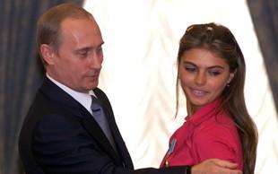 Je Alina Kabayeva velika skrita ljubezen Vladimirja Putina?