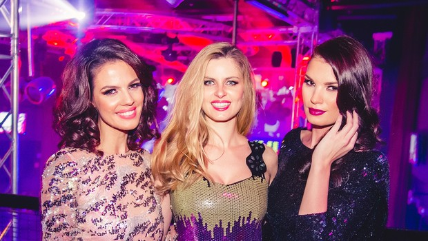 Na zabavi Fashionista v Cirkusu se je trlo znanih lepotic (foto: Marko Delbello Ocepek)
