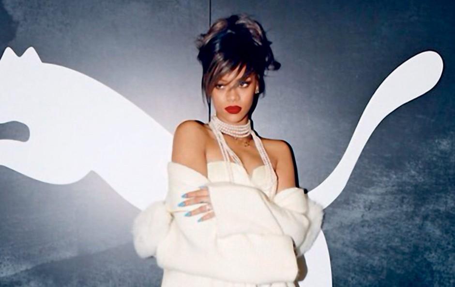 Rihanna je postala kreativna direktorica in ambasadorka slovite športne znamke Puma. (foto: profimedia)