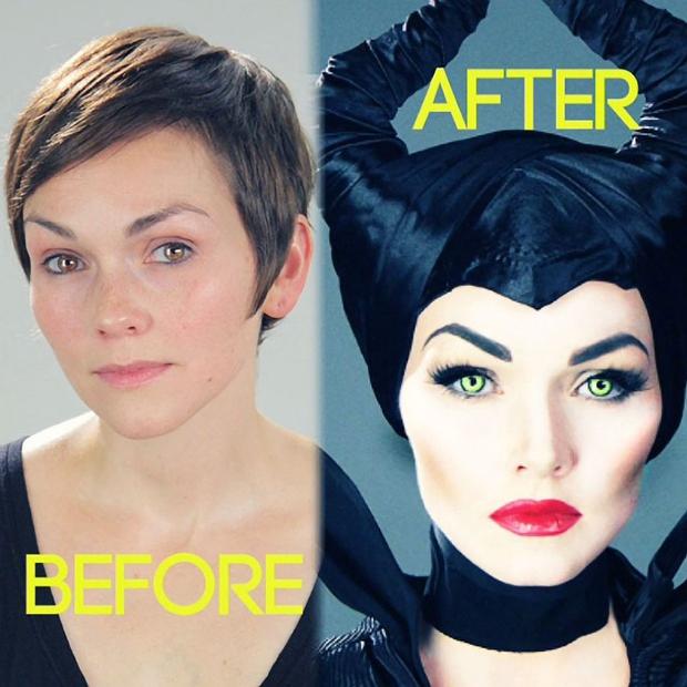 Neverjetno, kaj lahko naredi malo make-upa in veliko talenta (foto: Profimedia)