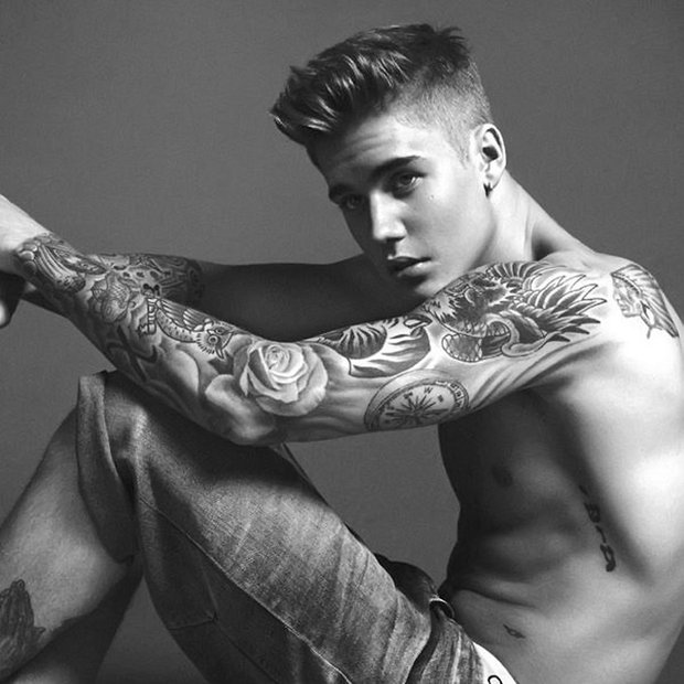 Justin Bieber za Calvin Klein