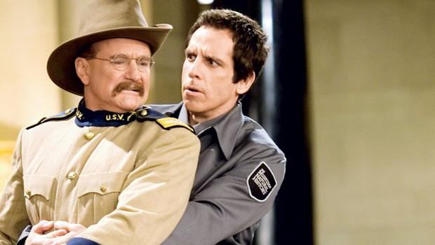 V filmu v eni izmed svojih zadnjih vlog navdušuje letos umrli Robin Williams, ki prepriča s svojo toplino, karizmo in nepremagljivim igralskim talentom, ki ga je tokrat uporabil pri utelešenju ameriškega predsednika Theodora Roosevelta. (foto: profimedia)