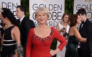 Glamurozna Helen Mirren pokazala, da so leta samo številka