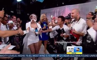 Naš Miha na en meter z Lady Gaga!