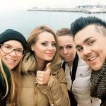 Marjetka in Raay sta bila zadovoljna z delom priznane slovenske stilistke Maje Lazar in fotografinje Tanje Zrinski, ki sta skozi modno fotografijo na slovenski obali spisali novo zgodbo glasbenega para. (foto: osebni arhiv)