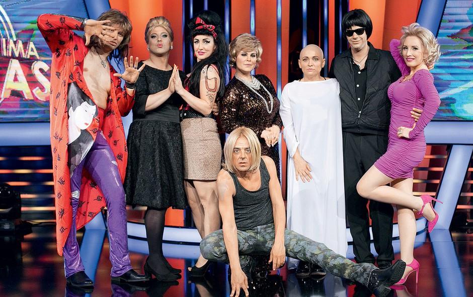 V prvi sezoni šova so nas navduševali Ana Marija Mitić, Tomaž Klepač, Natalija Kolšek, Eva Hren, Vlado Pilja, Tomaž Ahačič, Matjaž Kumelj in Daša Gradišek. (foto: POP TV)