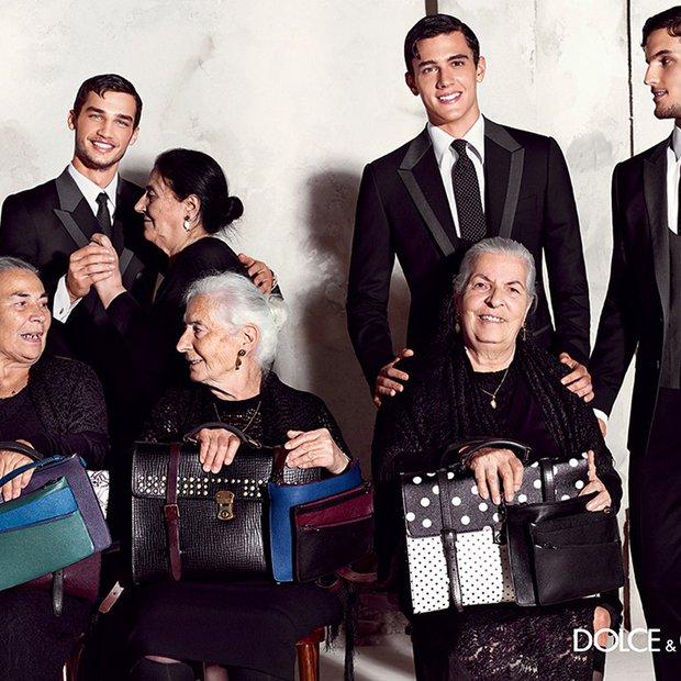 Pomladno-poletna kampanja Dolce & Gabbane slavi srebrno jesen!