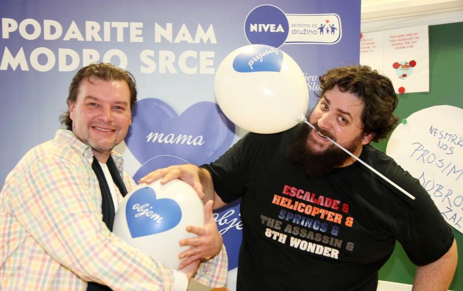 Robert Erjavec in Bostjan Gorenc Pizama (foto: Nivea)