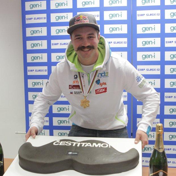 Torta, ki je vredna brkatega šampiona!