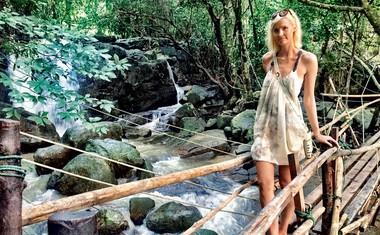 Navdušena sta bila predvsem nad lepoto narave. Uživala sta na plažah rajskih otokov in v prelepih ter romantičnih sončnih zahodih.