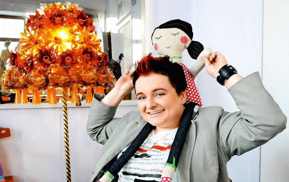 Martina Ipša pripravlja poučne delavnice za vse ljubitelje stand up komedije. (foto: Lea)