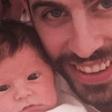Mali Sasha ima iste oči kot očka Pique