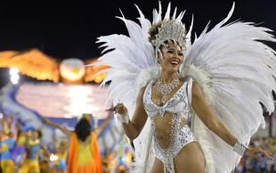 Rio de Janiero ponovno postregel s slikovitim spektaklom