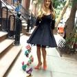 Zvezdnica serije Seks v mestu se rada baha z novimi čevlji