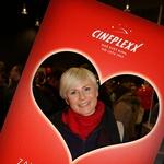 Znani Slovenci so romantično valentinovo preživeli v kinu (foto: Mediasplet)