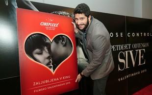 Znani Slovenci so romantično valentinovo preživeli v kinu