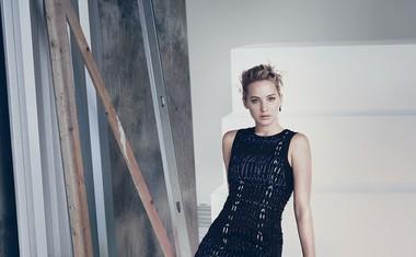 Jennifer Lawrence za Dior