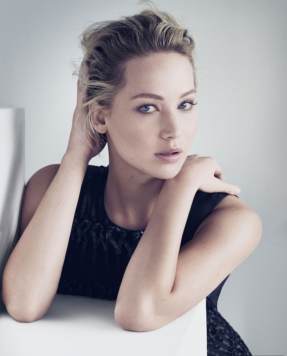 Jennifer Lawrence za Dior (foto: profimedia)