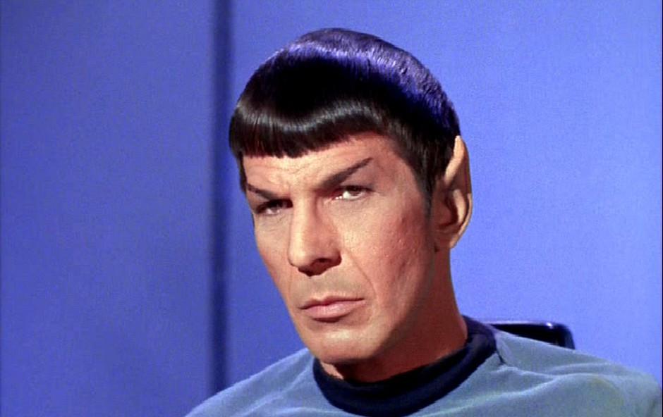 Leonard Nimoy kot Spock v Zvezdnih stezah (foto: Profimedia)