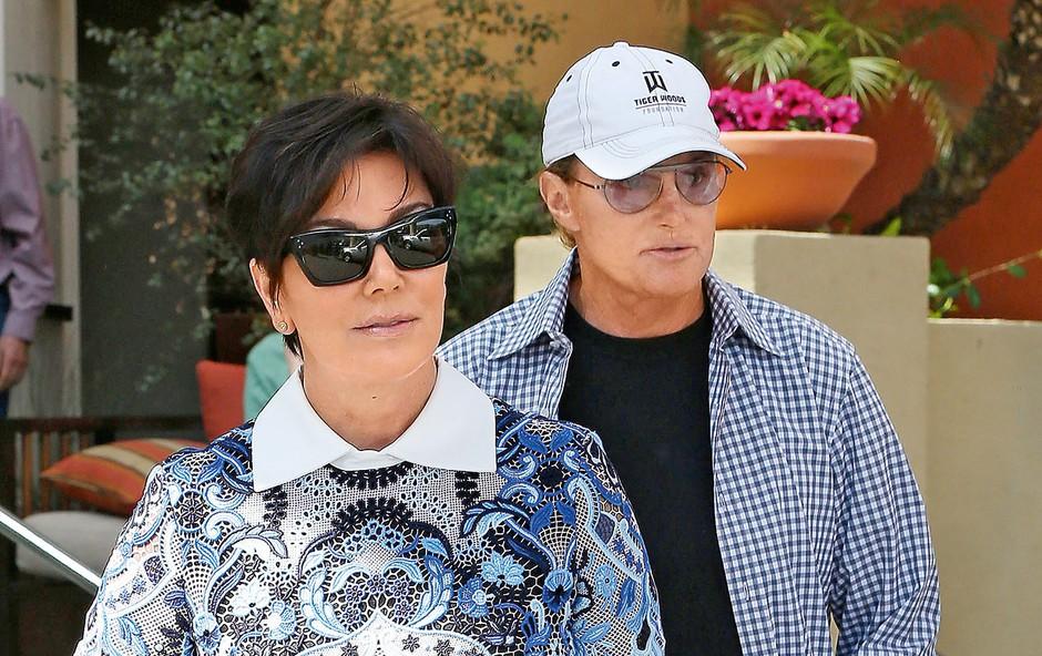 Čeprav ga je žena Kris Kardashian kmalu po poroki zalotila v svojih oblekah, ga je prisilila, da je svojo žensko naravo v sebi zatiral do ločitve.   (foto: Lea)