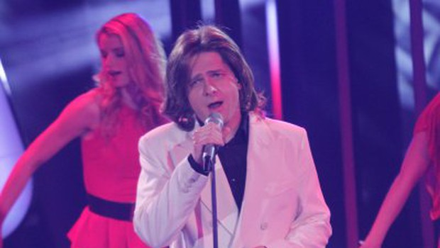 Kako se je na odru znašel brez očal?!? (foto: Goran Antley)