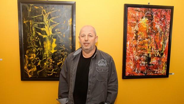 Rajko Ferk - najprepoznavnejši slovenski slikar zadnjih let (foto: Mediaspeed)