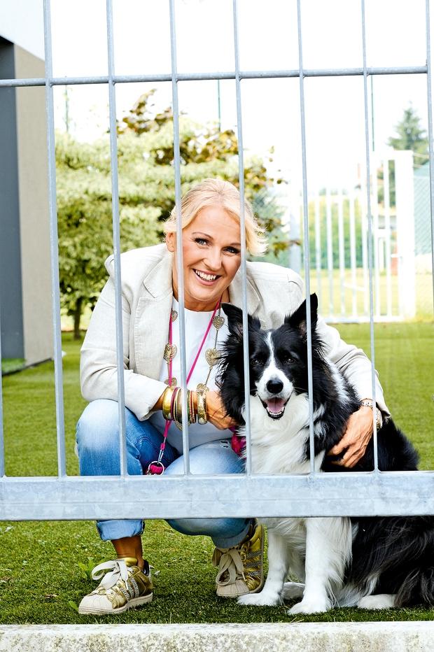 Alenka Godec o svoji psički Elli (foto: Lea)