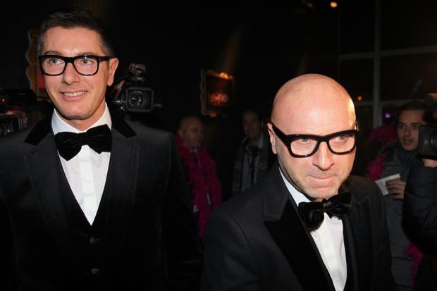 Dolce & Gabbana po jeznem odzivu Eltona Johna stopata korak nazaj (foto: profimedia)
