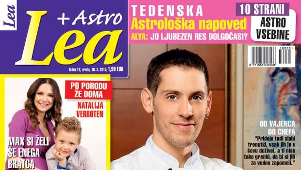 Nova Lea + Astro tudi o Tomažu iz Big Brotherja (foto: Lea)