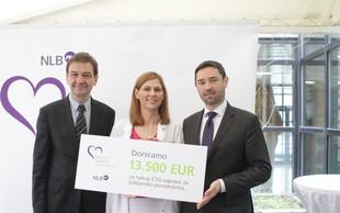 Porodnišnica Ljubljana je bogatejša za CTG napravo, ki jo podarja NLB!