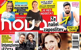 Najnovejša Nova o Žani, Katayi, Milošu iz Bara in imenu hčere Petre Majdič