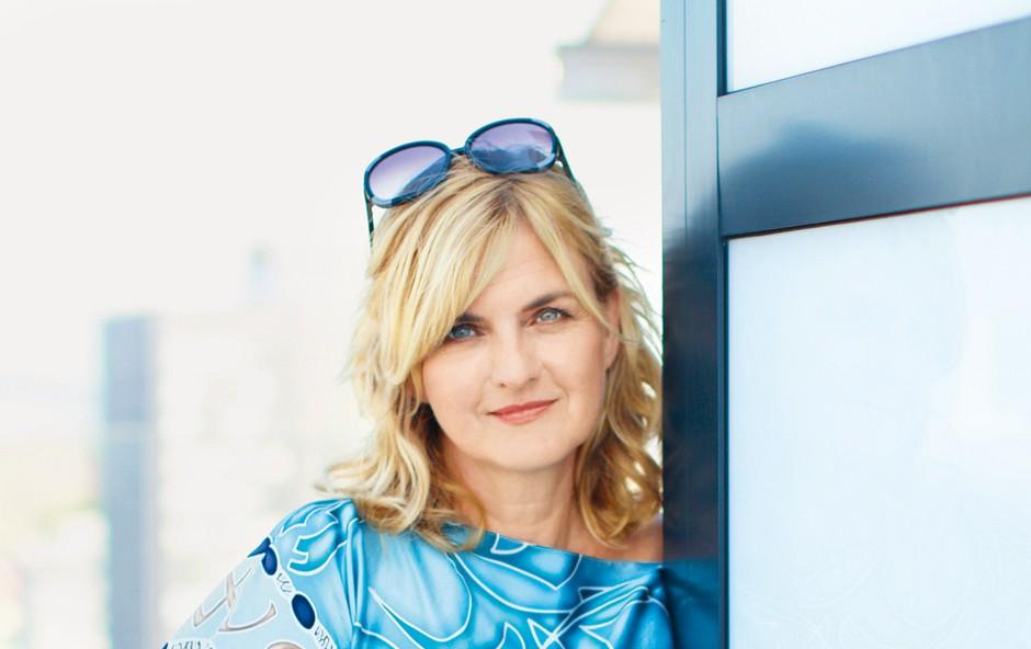 """Sanja Doležal: """"Zdaj otroka pomagata meni"""" (foto: Story press, Goran Antley)"""