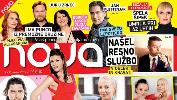 Nova obiskala Ksenijo Kranjec, odkrito pa tudi o zakulisju v Big Brotherju! (foto: Nova)