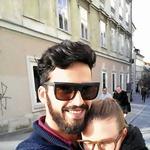 Tudi, ko je bil Miloš še del šova, ga je Katarina redno obiskovala (foto: Facebook)