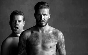 Zabavljaški oglas za spodnje perilo z Davidom Beckhamom